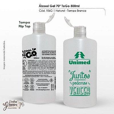 Álcool em Gel com Hidratante Frasco personalizável