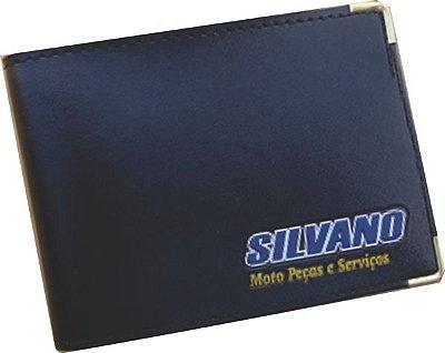 Carteira em Couro Sintético e PVC - Minimo 100 peças
