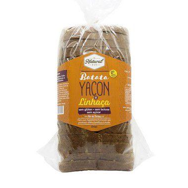 Pão de Batata Yacon e Linhaça Sem Glúten e Lactose 450g