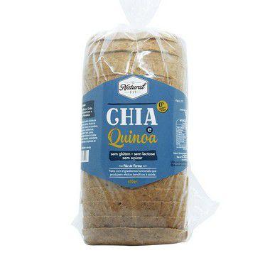 Pão de Chia e Quinoa Sem Glúten e Lactose 450g