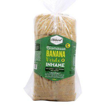 Pão de Biomassa de Banana Verde e Inhame Sem Glúten e Lactose 450g