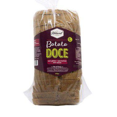 Pão de Batata Doce Sem Glúten e Lactose 450g