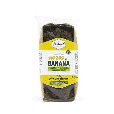 Bolo Integral de Nozes e Banana Sem Glúten e Lactose 90g