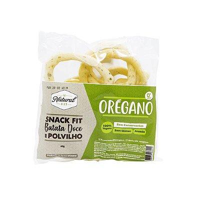 Snack fit Batata Doce e Polvilho - Orégano Vegano Sem Glúten 40g