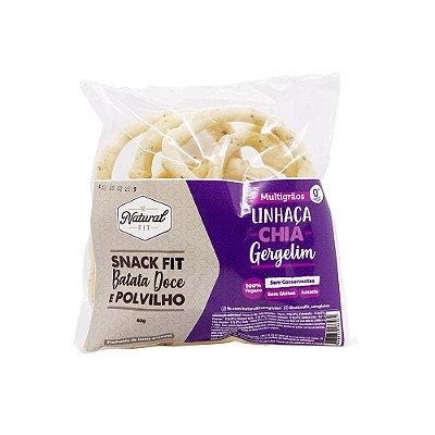 Snack Fit Batata Doce e Polvilho - Multigrãos  Vegano Sem Glúten 40g