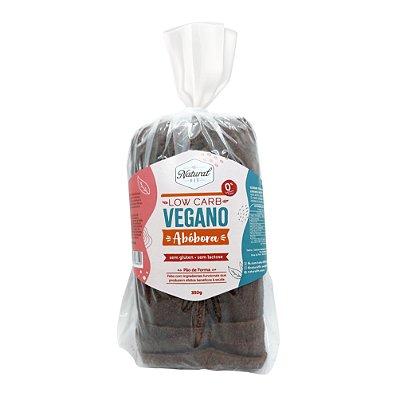 Pão Low Carb Vegano Abóbora Sem Glúten e Sem Lactose 350g