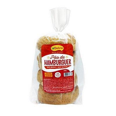 Pão de Hambúrguer Sem Glúten e Sem Lactose 320g