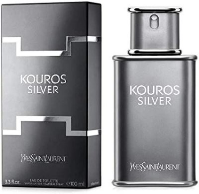 KOUROS SILVER By Yves Saint Laurent