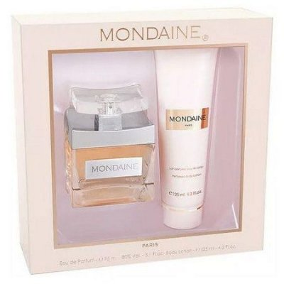 KIT MONDAINE By Paris Bleu Edp Perfume 95ml + Lotion 125ml