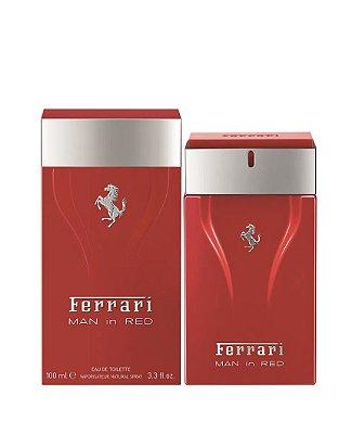FERRARI MAN IN RED By Ferrari