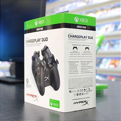 Base Carregadora Hyperx ChargePlay Duo para Controle de Xbox One