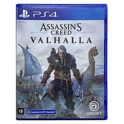 Jogo Assassin's Creed Valhalla PS4