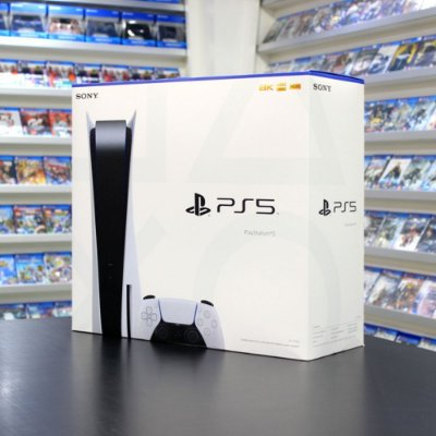 Console Playstation 5 825gb com Leitor de Disco CFI - 1114A