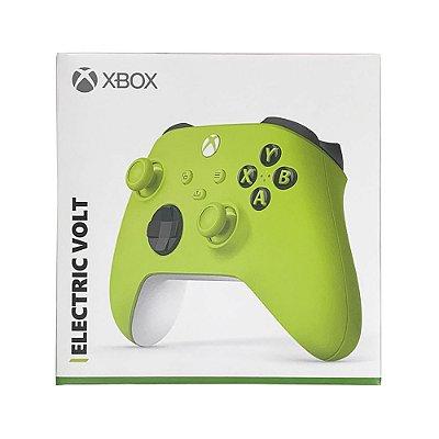 Controle sem fio Xbox Series Eletric Volt