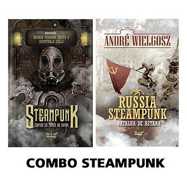 COMBO STEAMPUNK - Diversos Autores