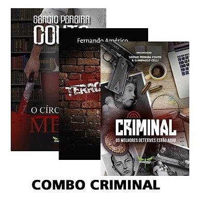 COMBO CRIMINAL - Diversos Autores