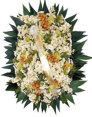 Coroa de Flores 13 ( Orquideas )