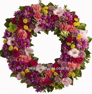 Coroa de Flores 25