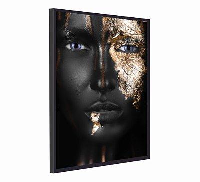 BLACK WOMAN GOLD