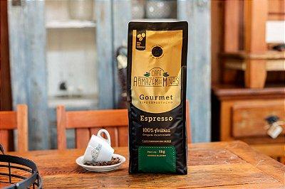 Café Gourmet Torrado em Grãos 1kg     Espresso