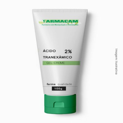 Ácido Tranexâmico 2% Gel-Creme