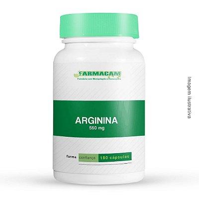 Arginina 550 Mg