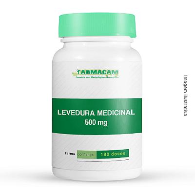Levedura Medicinal 500 mg