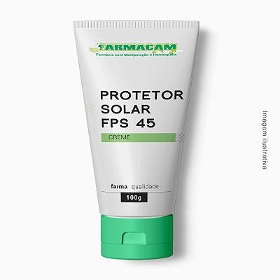 Protetor Solar Creme FPS 45