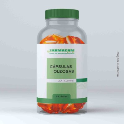 Cápsula oleosa de CLA - 1.000 mg