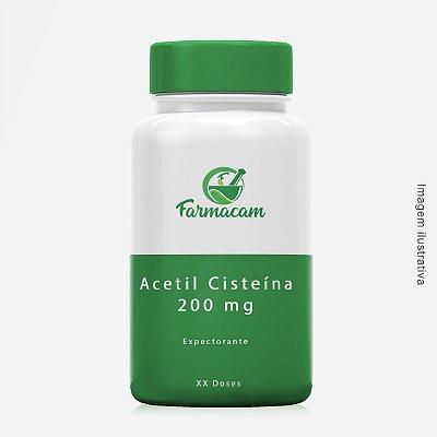 Acetil Cisteína 200 mg - expectorante - 40 doses