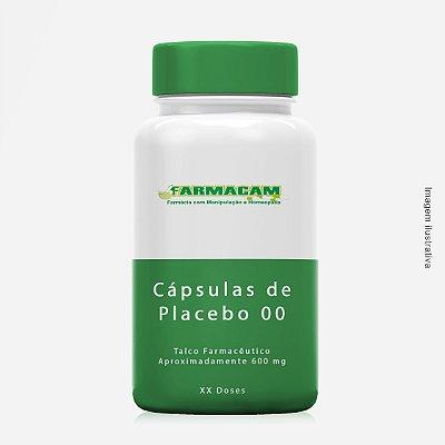 Cápsulas de Placebo 00 - aprox. 600 mg - Talco Farmacêutico