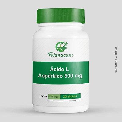 Ácido aspártico L 500 mg