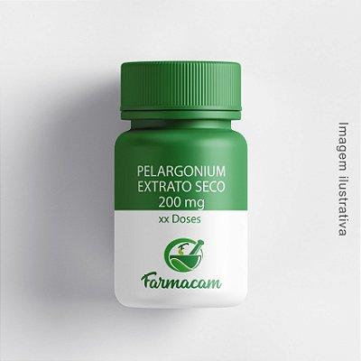 Pelargonium extrato seco 200 mg