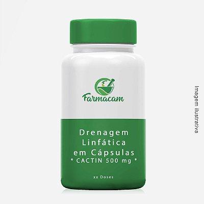 Drenagem Linfática Em Cápsulas ( CACTIN 500 mg)