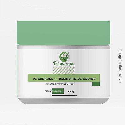 Pé Cheiroso - Creme Farmacêutico - Tratamento de Odores