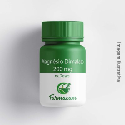 Magnésio Dimalato 200 mg