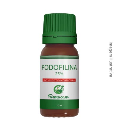 Podofilina 25% - 10 ml