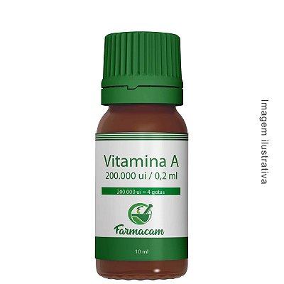 Vitamina A 200.000 ui - Base Oleosa