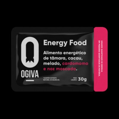 Ogiva Energy Bite Tâmara   Display   30 unidades