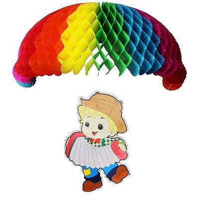 Enfeite Paraquedas Balão