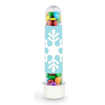 Tubete para Lembrancinha Flocos de Neve - 1 un