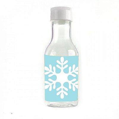 Garrafinha para Lembrancinhas Flocos de Neve