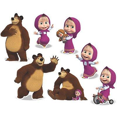 Decoração de Mesa Masha e o Urso - 7 unidades