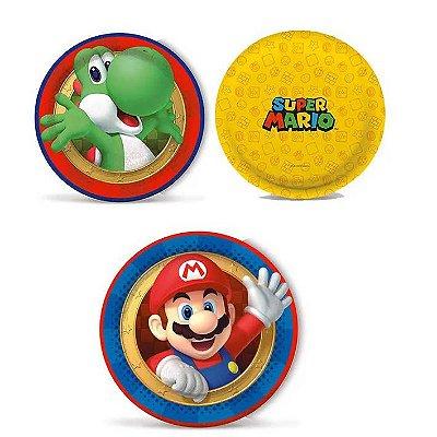 Prato Super Mario Bros - 8 unidades