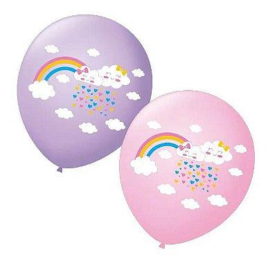 Balão Nuvem - 25 unidades
