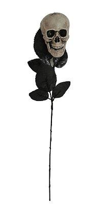 Rosa Negra com Caveira