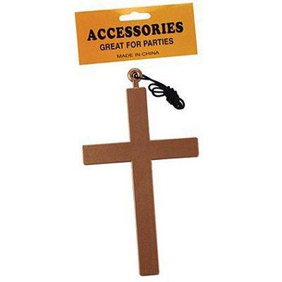 Colar Crucifixo Halloween