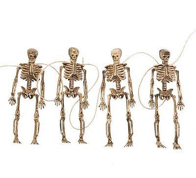 Varal Mini Esqueletos