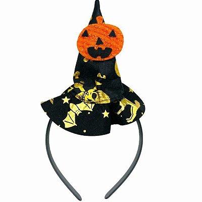 Tiara com Chapéu Halloween
