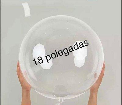 Balão Bubble 18 polegadas